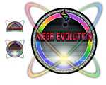 Mega Evolution Icon Vector HD
