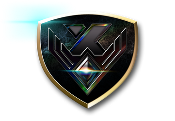 Pokken League Crest X Rank (Large) by CalicoStonewolf