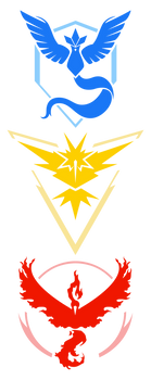 Pokemon GO Teams (Vector)