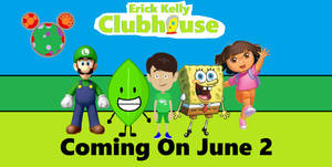 Erick Kelly Clubhouse Poster (For erick2k21)