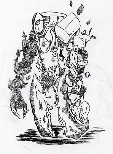El golem, la bruja y el demonio.  - Página 2 Concrete_golem_concept_by_newmconn-d87809v