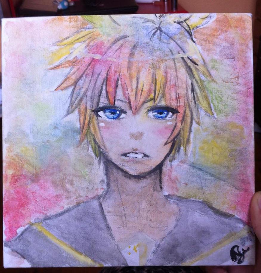 Rainbow Len by aleeeshr