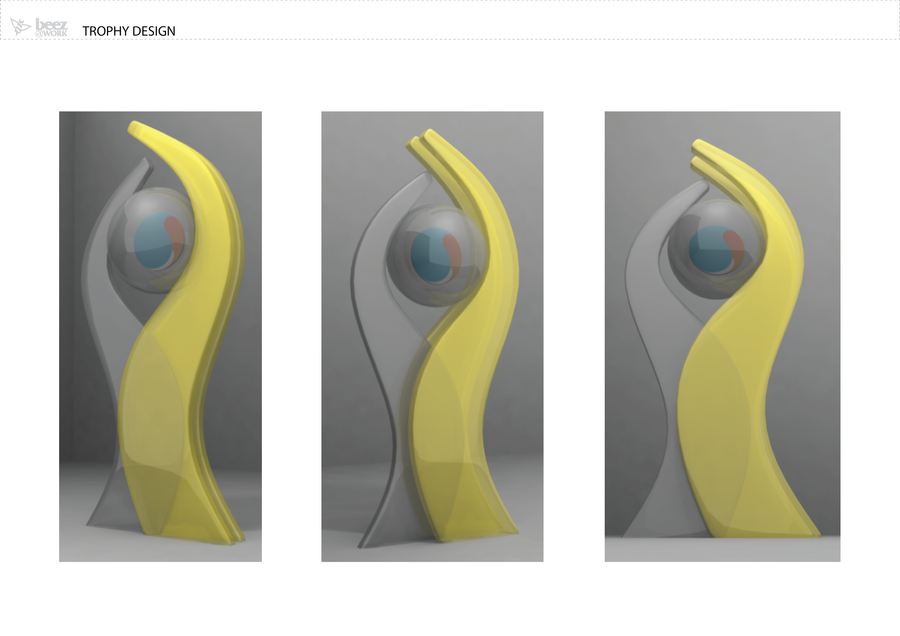 Synergycentric trophy design 2 by aziqdohh on deviantart How to design a trophy