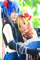 Kyte and Len by Ryuuseiki