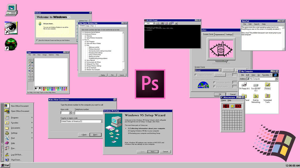 Windows 95 AESTHETIC By Zimzonez On DeviantArt