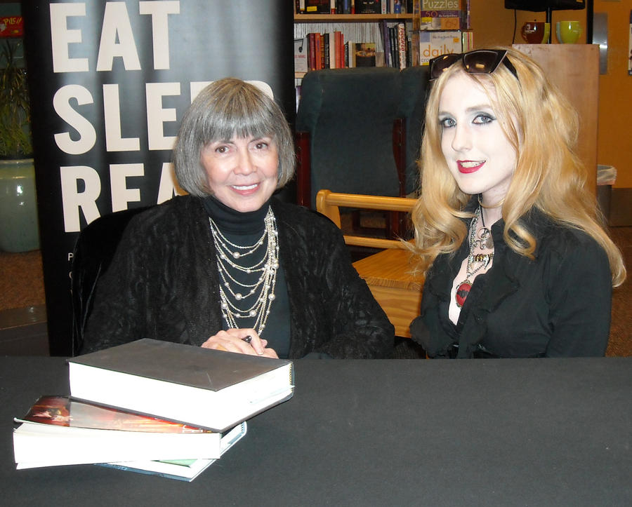 Anne Rice and Lady Lestat by LadyLestat88
