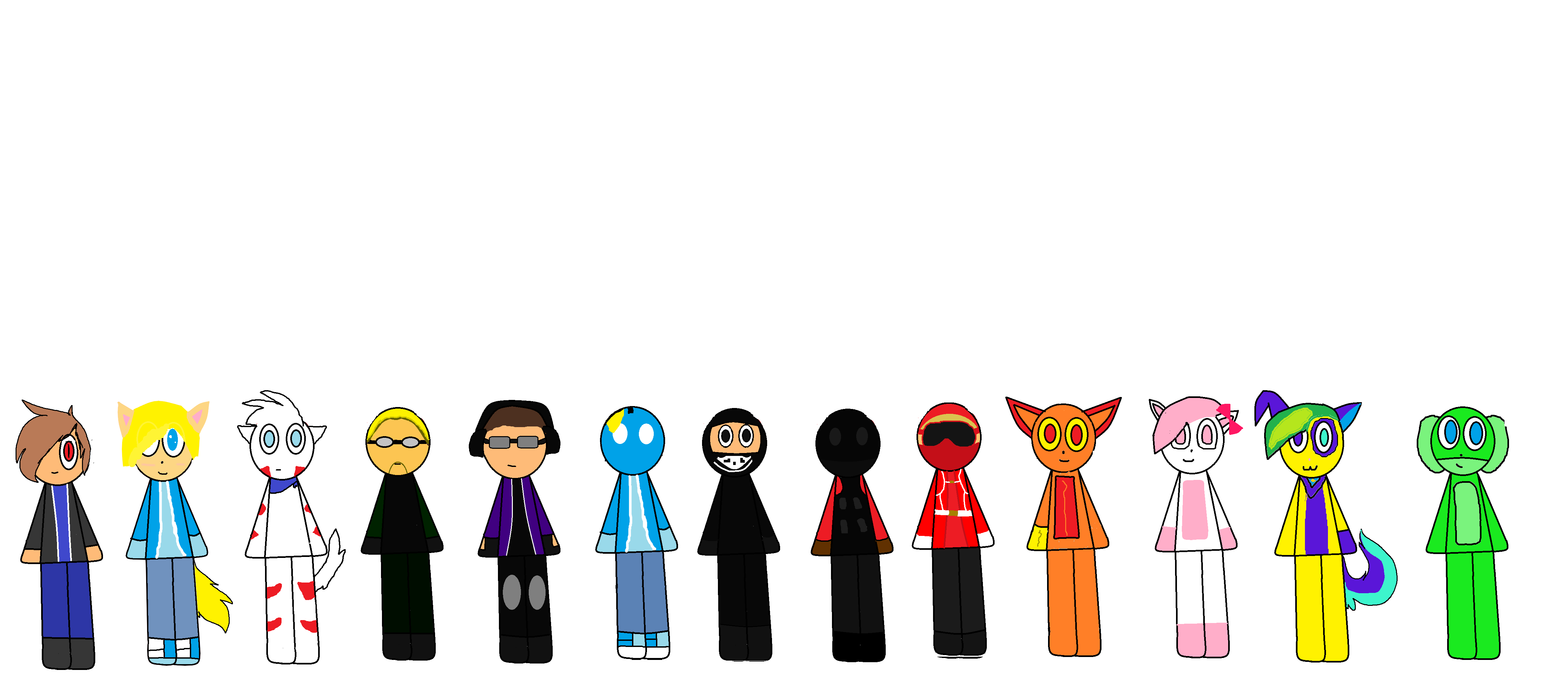 Anyone want there character drawn? Team_arrowman_by_thedillbot123-dalka16