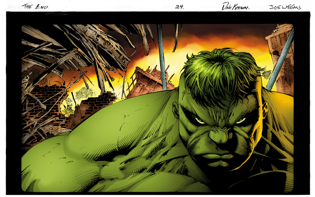Hulk The End Keown Flats By Shadowrenderer-d5g4p84 by rtterry3225