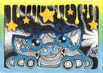 ACEO:Twinkle Stars