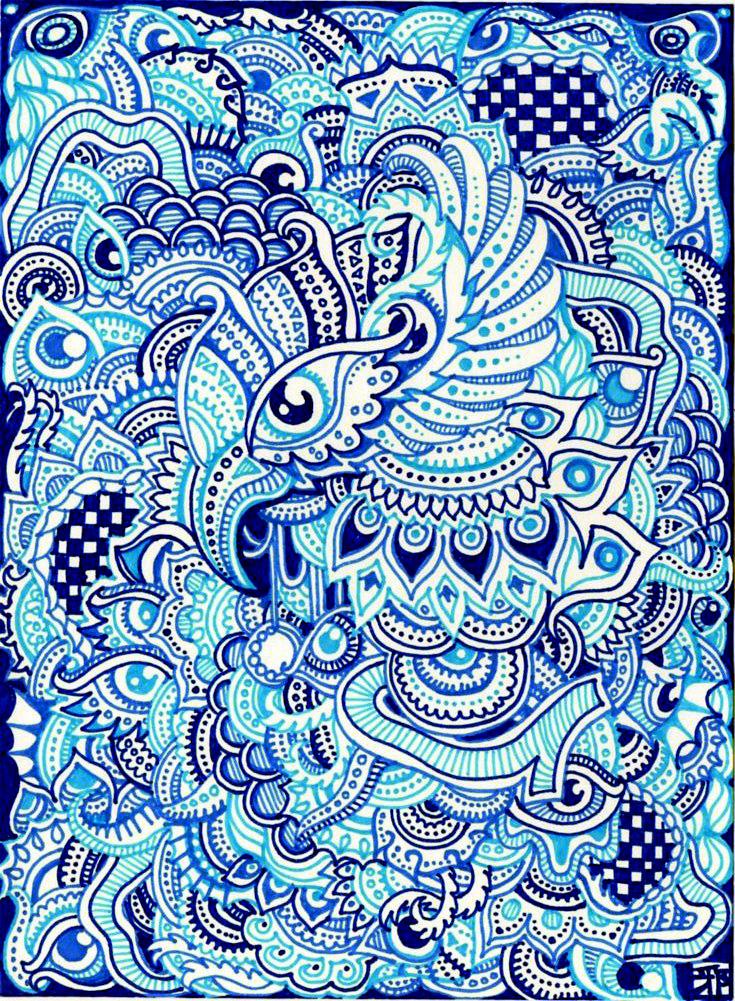 Blue doom by lutamesta