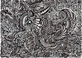 Creatures in illusion by lutamesta