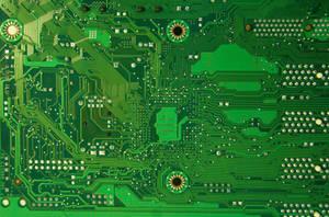 computer Texture Motherboard tech Circut green by TextureX-com