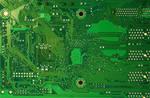 computer Texture Motherboard tech Circut green