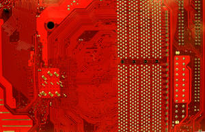TextureX Motherboard Circut Red Stock Tech Texture by TextureX-com