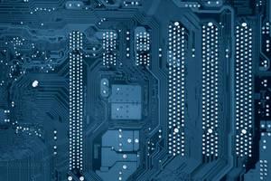 computer Texture Motherboard Circut blue tech by TextureX-com