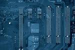 computer Texture Motherboard Circut blue tech