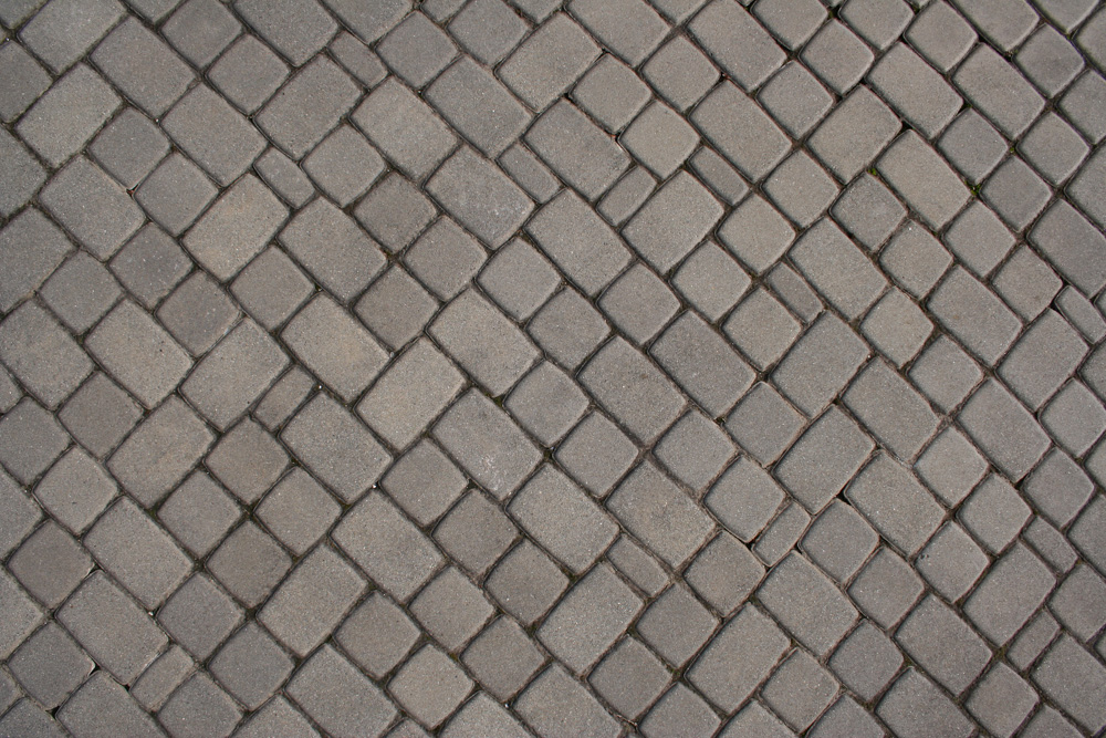 Brick Texture Grey Cobble Stone Small Ground