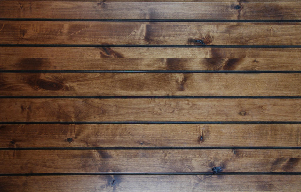 Smooth Wood Texture Oak Wall Plank Stock