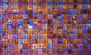 Glass Texture pearlescent shine tile wall meta