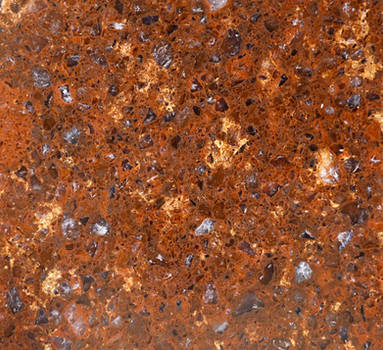 Red Rock Texture Granite Surface Smooth Counter St