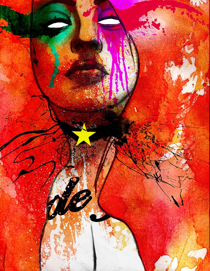 Rude Girl by GustavoFajardo