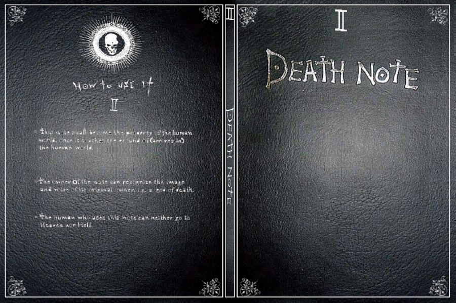Death Note DVD Cover by euterpemusa on DeviantArt