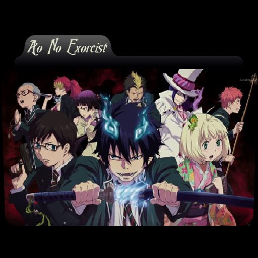 Ao No Exorcist Folder Icon
