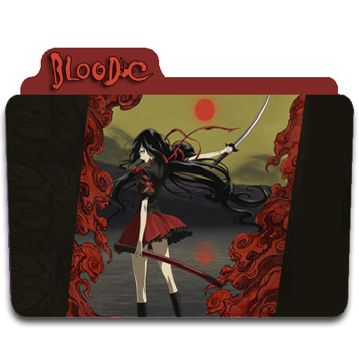 Blood C Icon Folder By Euterpemusa On DeviantArt