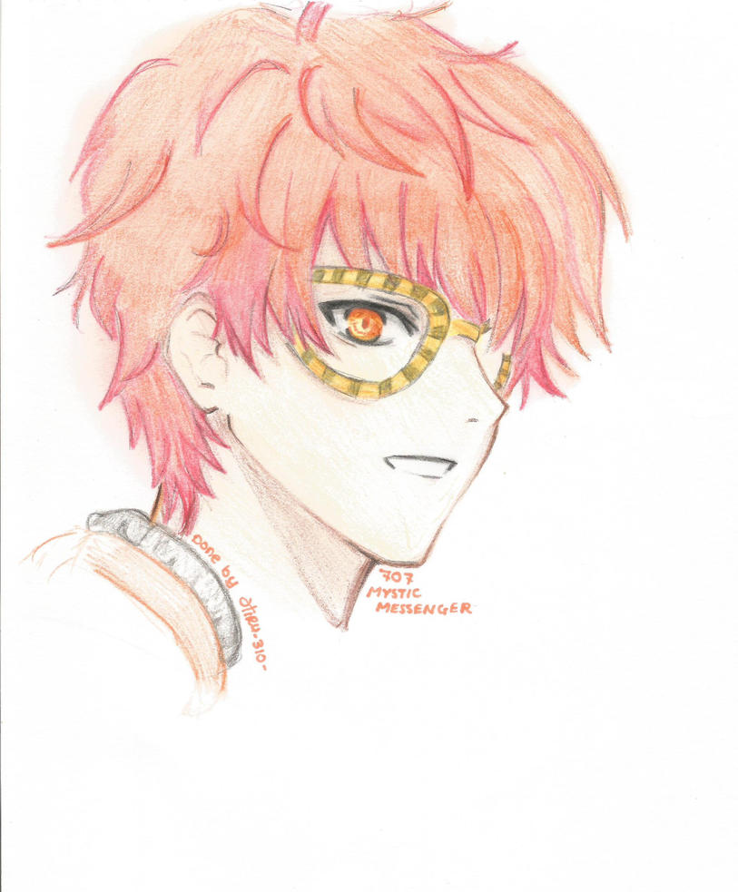 Mystic Messenger 707 by Hil310