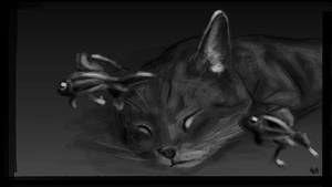 Sleeping with the fish by Thykka