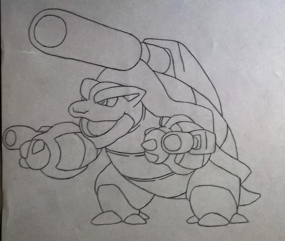Mega Blastoise by TheIronCortex10