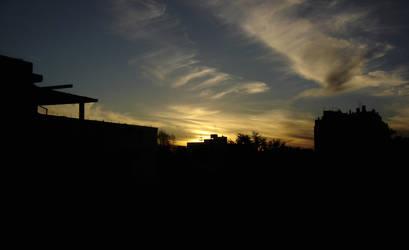 Urban Sunset by aeremita