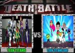 Teen Titans Vs Teen Titans Go!
