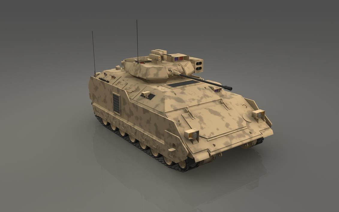 APC - M3A3 Bradley by cr8g