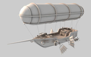 Scarlett's Pride - airship by cr8g