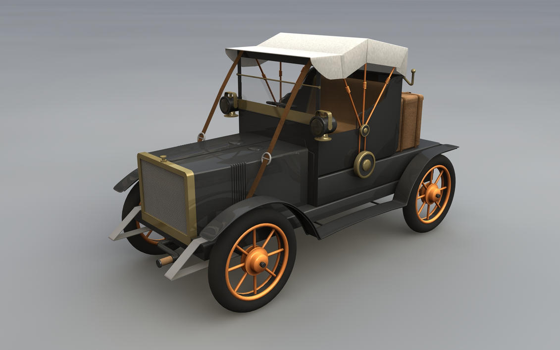 Old car model by cr8g on DeviantArt