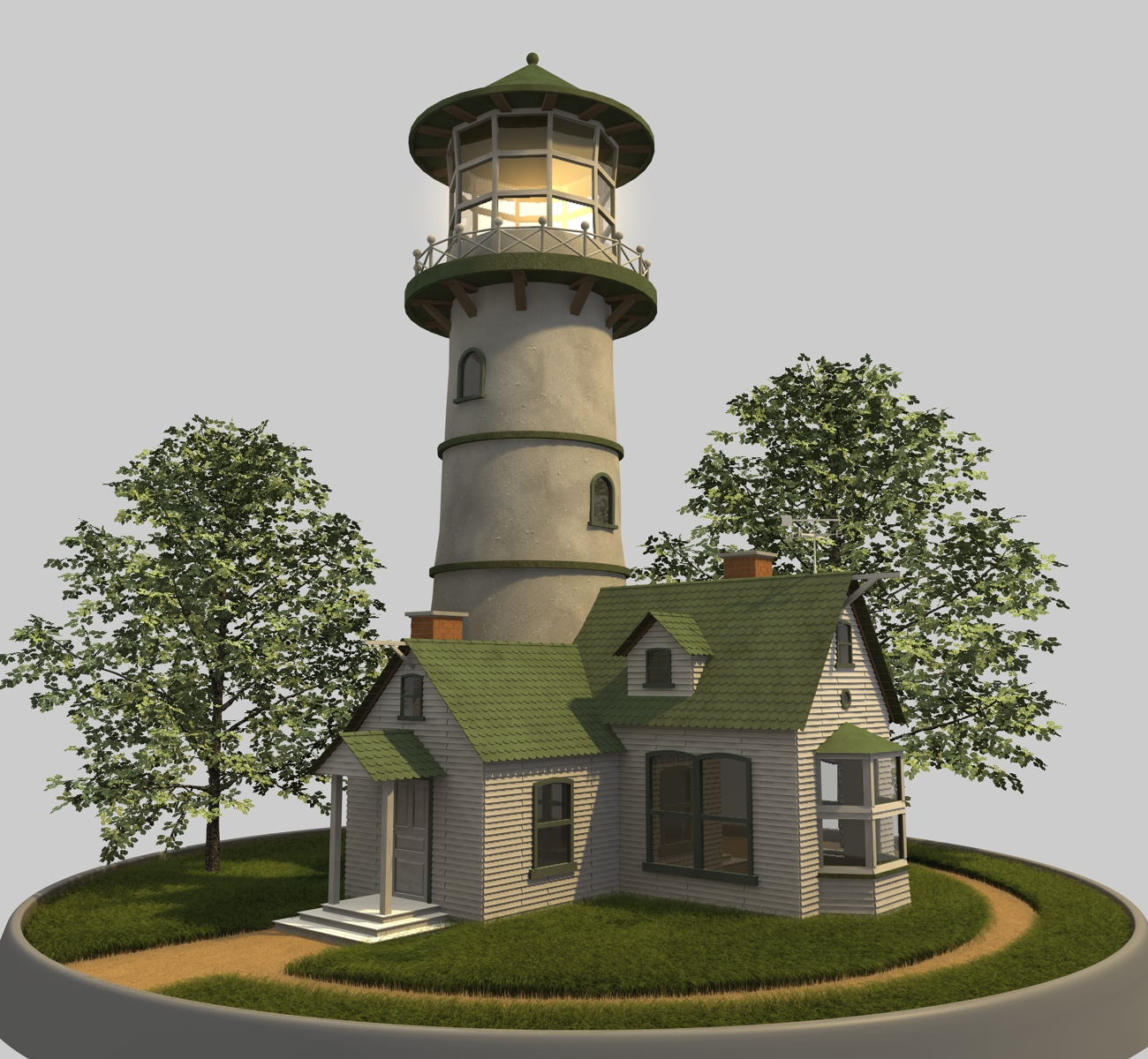 Lighthouse - 2nd Angle by cr8g