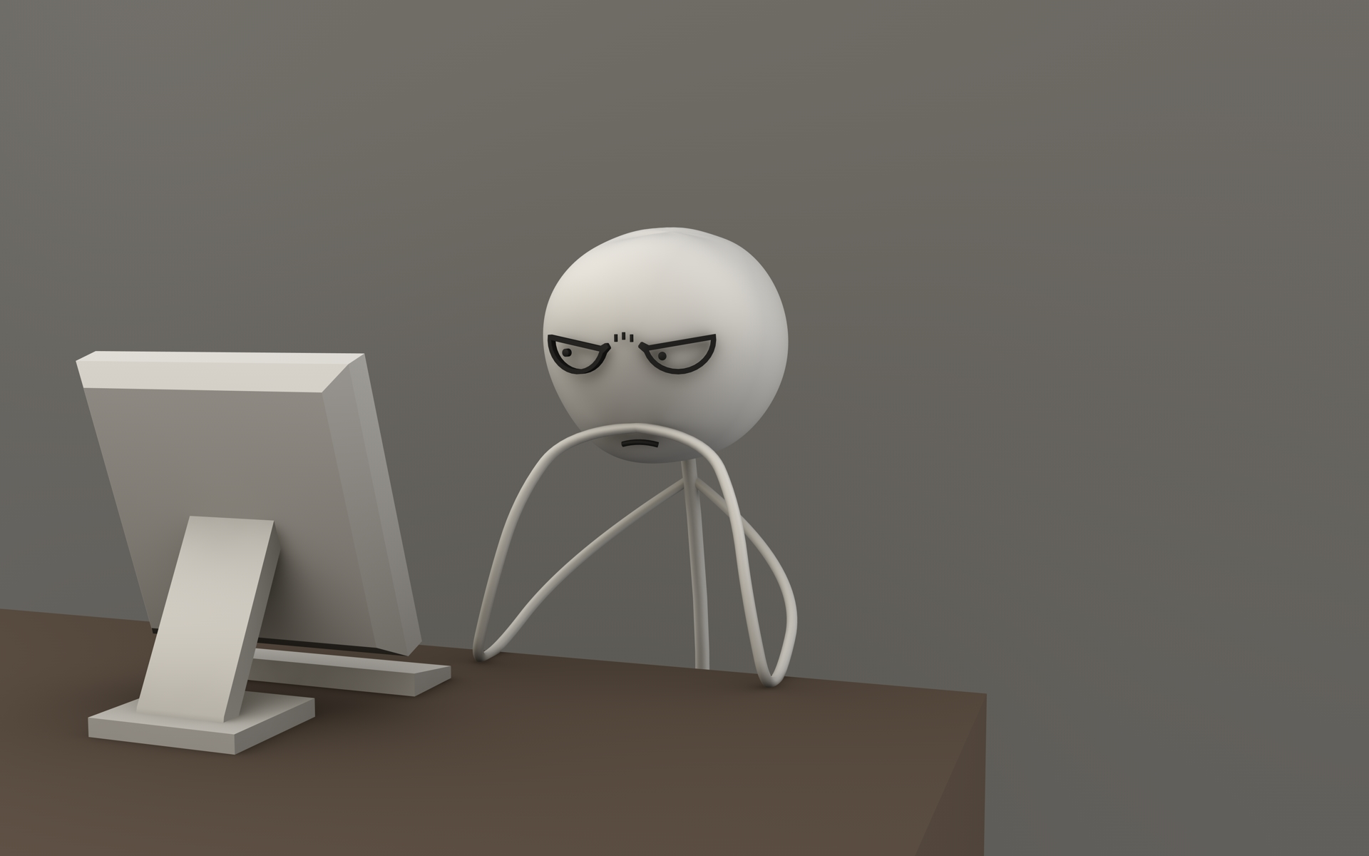 Computer guy meme by cr8g on DeviantArt Angry Computer Guy