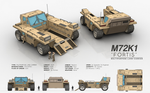 M72K1 FORTIS - Multipurpose Land Carrier