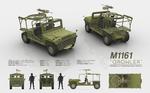 M1161 GROWLER - Internally Transportable Vehicle