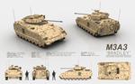 M3A3 BRADLEY - Infantry Fighting Vehicle