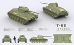 T-50 KHOREK - Light Infantry Tank