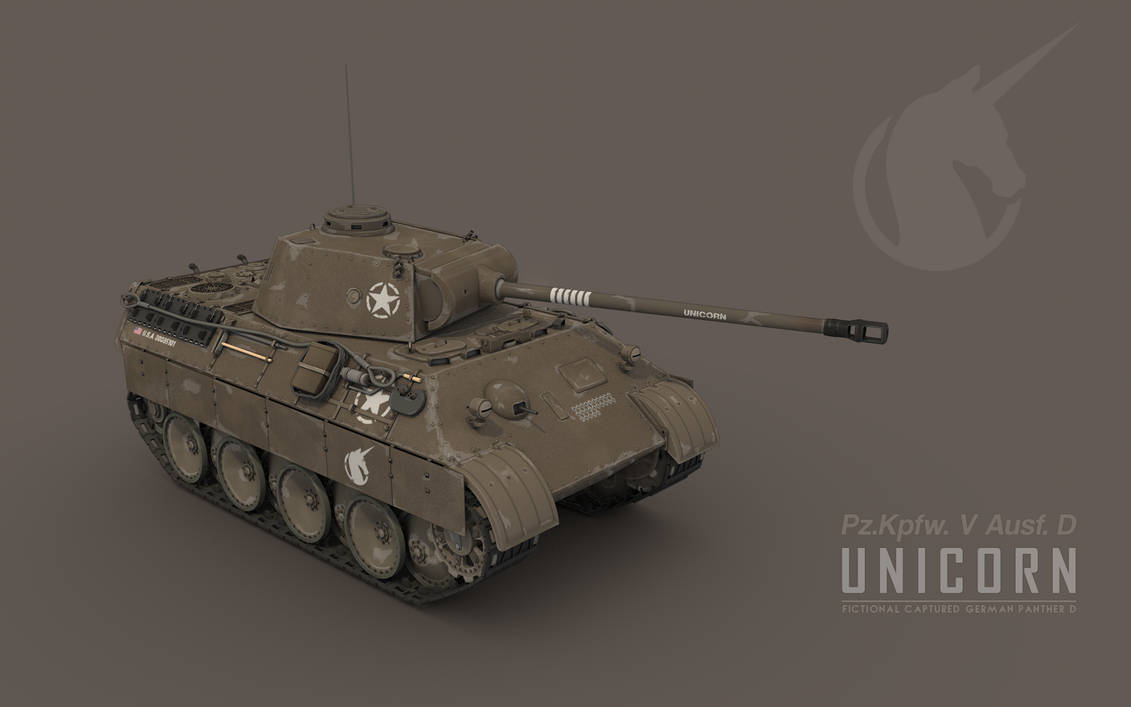 Unicorn: Captured German Panther D
