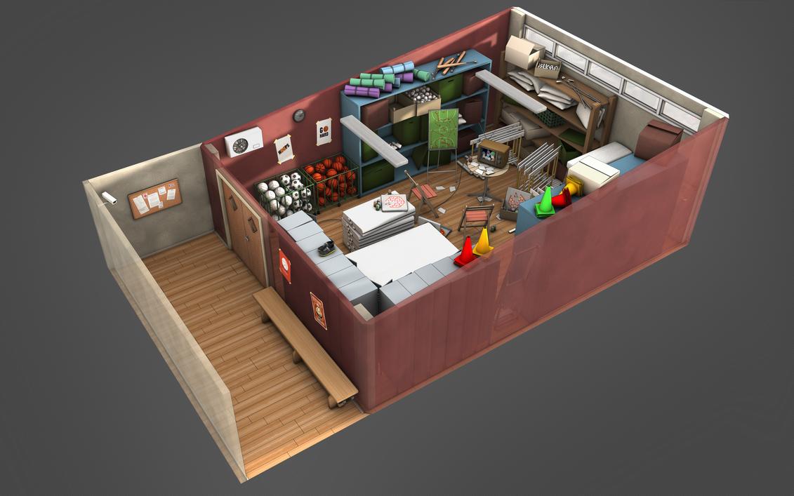 Game Room Storage Furniture