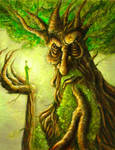 Treebeard sketch card