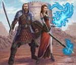warrior and sorceress