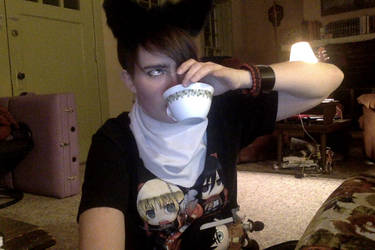 Heichou and his tea! by nimlover360