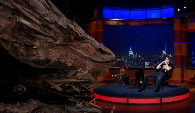 Interviewing the Dragon by unusedusername111
