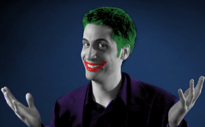 Joker (Jeremy Jahns) by unusedusername111