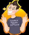 Double-Finger Defense!